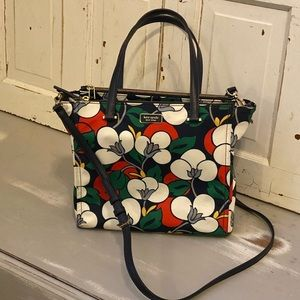 Kate Spade Dawn Breezy Floral Satchel